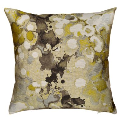 Ochre Splash Cushion