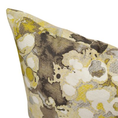 Extra-Large Ochre Splash Cushion