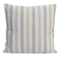 Blue Preppy Stripe Cushion