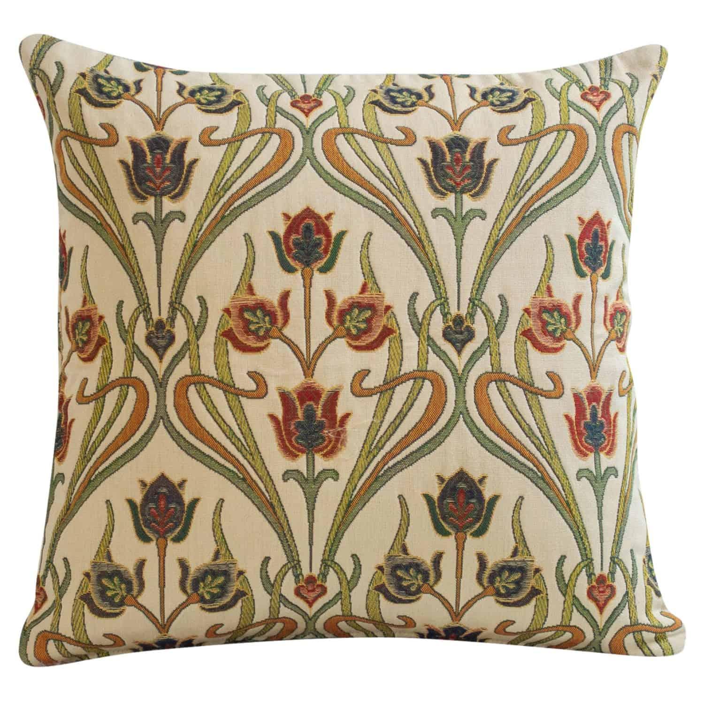 Woven Art Deco Cushion