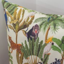 Extra Large Cartoon Jungle Animals Cushion