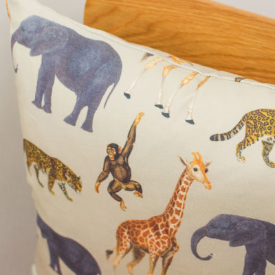 Zoo Animals Cushion