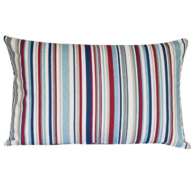 Stripy Nautical XL Rectangular Cushion