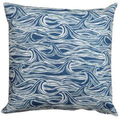 Extra Large Ocean Waves Cushion