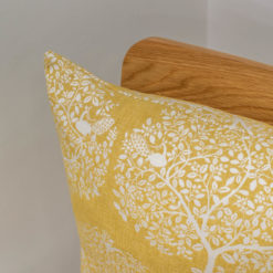 Mulberry Tree Ochre Cushion