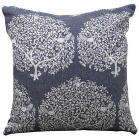 Mulberry Tree Navy Cushion