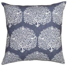 Extra Large Mulberry Tree Navy Cushion
