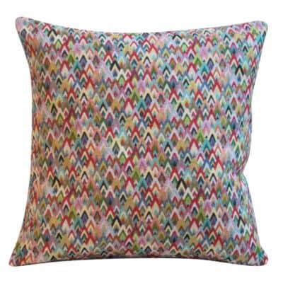 Mini Geometric Tapestry Cushion