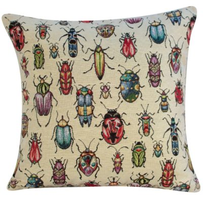 Tapestry Bugs Cushion