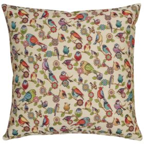 XL Tapestry Songbird Cushion