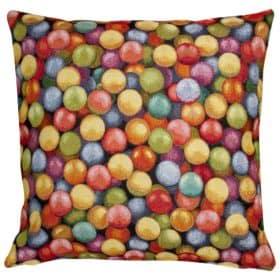 XL 3D Multicoloured Marbles Cushion