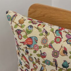 Tapestry Songbird Cushion