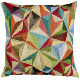 Retro Carnival Tapestry Cushion