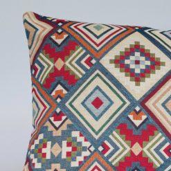 Aztec Geometric Tapestry XL Rectangular Cushion