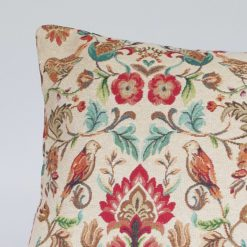 Morris Style Bird Garden Tapestry XL Rectangular Cushion