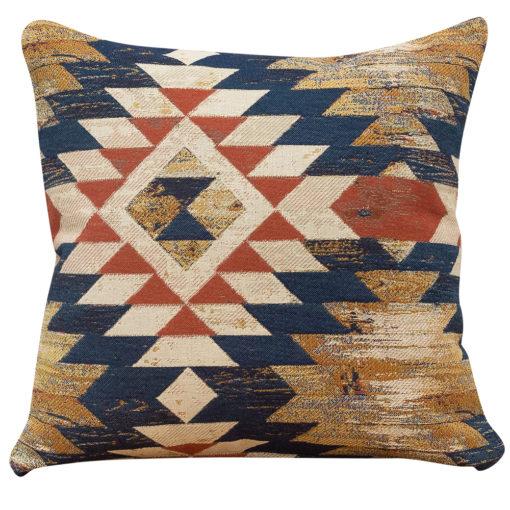 Abstract Kilim Cushion