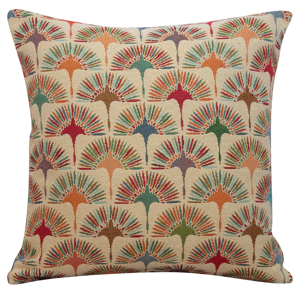 Retro Dandelion Tapestry Cushion