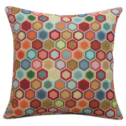 Honeycomb Tapestry Cushion