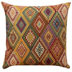 Kilim Weave XL Cushion in Vintage