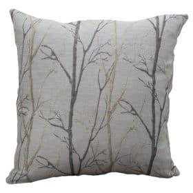 Metallic Birch Tree Cushion