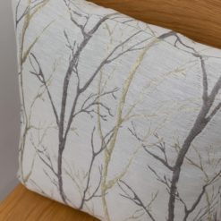 Metallic Birch Tree Cushion