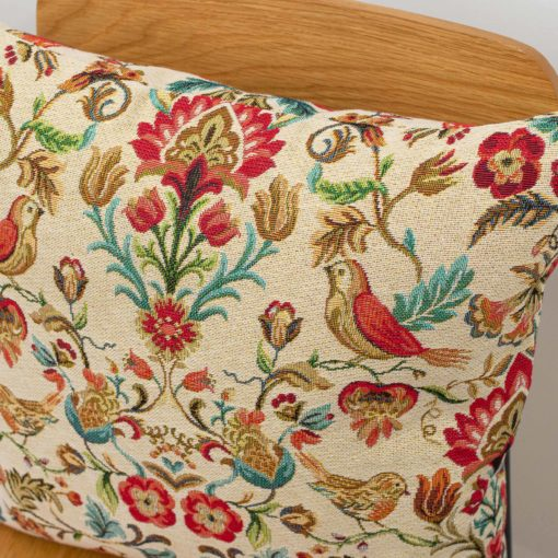 Morris Style Tapestry Cushion