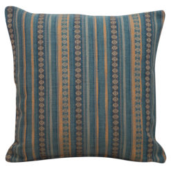 Navajo Blanket Cushion Teal