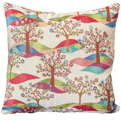 Rainbow Tree Cushion