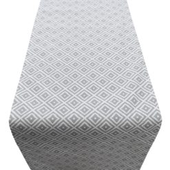 Scandi Ikat Runner Grey