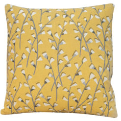 Scandi Trailing Flowers Cushion Daisy
