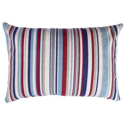 Stripy Nautical Boudoir Cushion
