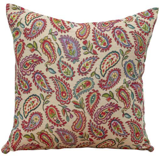 Tapestry Paisley Cushion